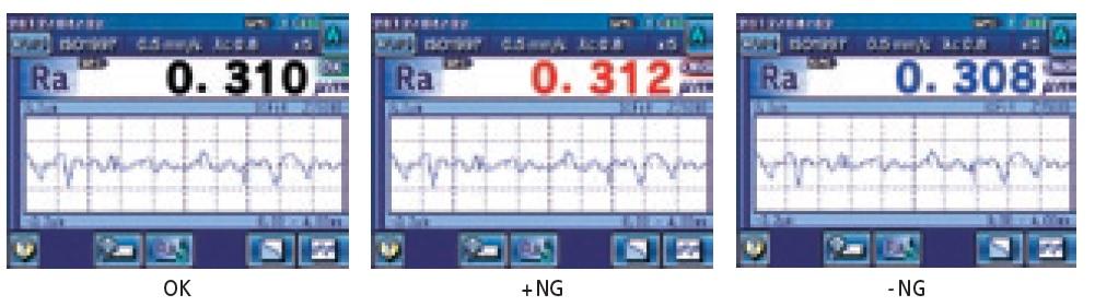 Pomiar_chropowatości_powierzchni_-_Chropowatosciomierz_SJ-310_-_ukazanie_pozytywne_i_negatywne_wyniki_pomiarów