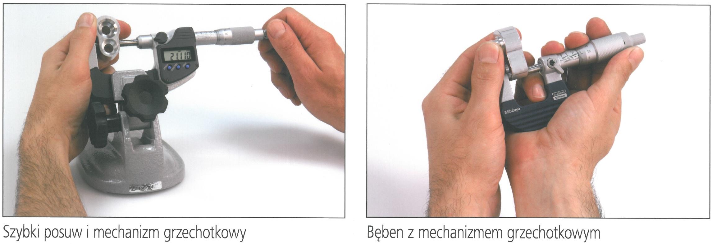 mikrometr_pomiarowy_bęben_mechanizm_grzechotkowy